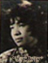 Cô Nguyễn Thu Nguyệt