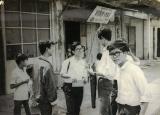 QN 1967: Đường Tăng B.Hổ năm 67 trước nhà Võ Hồng Phong/Thầy Doãn dạy Pháp văn, khu xóm chợ