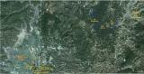 Bản đồ vị trí một số cứ điểm lịch sử trận Điện Biên Phủ