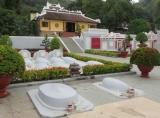 Lăng và đền thờ ông Thoại Ngọc Hầu - núi Sam - Châu Đốc - An Giang