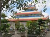 Chùa Thành Hoa , đạo Phật Nằm - cù lao Giêng - An Giang