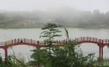 Núi Cấm , buổi chiều đầy sương mù giữa tháng 12 dương lịch