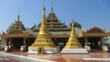 Chùa ở trung tâm thành phố Myawaddy - Myanmar