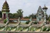 Đã vào thành phố Siem Reap