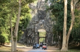 Đường đến Angkor Thom - Siem Reap - Kampuchia