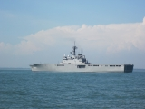 Tàu Nhật hộ tống tàu Mercy