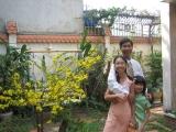 Gia đình Trí Mẫn đầu năm mới