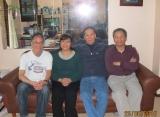 Hạnh và Tưởng thăm gia đình Thầy Bé