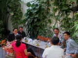 Cafe đầu năm Nhâm Thìn