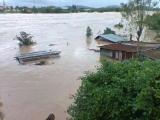 Khu vực phường Trần Quang Diệu (Quy Nhơn) nước về như trận lụt năm 2009