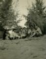 Akela, Bagheera, Balo, Chill và 2 HDS Thang và Vo. Kỳ Trại cạnh bãi dương trường SPQN