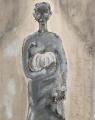 Bà mẹ Ô Lý (sơn dầu trên giấy - 1977)