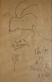 Chân dung Văn Cao (ký họa trên giấy - 1988)