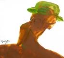 Tự họa cuối cùng (sơn dầu - 2000)