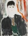 Chân dung Trịnh Vĩnh Trinh (sơn dầu trên bố - 1998)